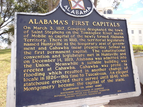 Alabama's First Capitals