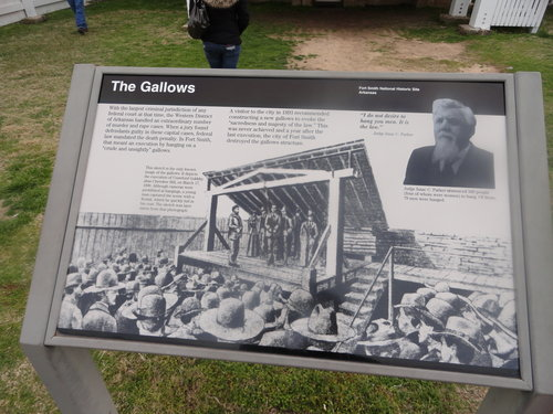 The Fort Smith Gallows