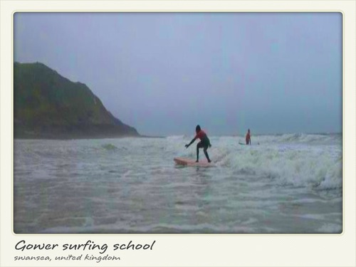 Gower surfing school