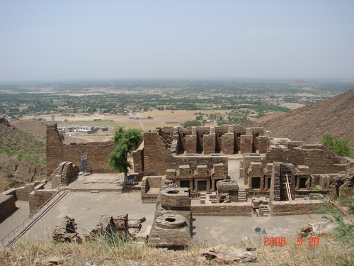Buddhist Ruins of Takht-i-Bahi and City Remains at Sahr-i-Bahlol